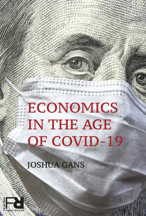 Book cover: Economics in the Age of Covid-19